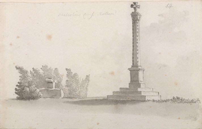 Malcolm's Cross, at Alnwick